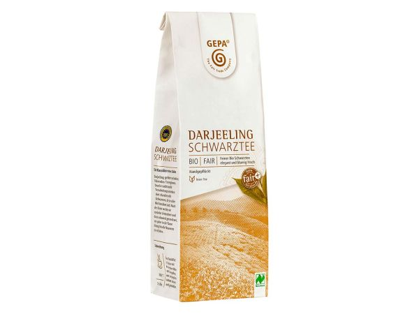 GEPA Schwarzer Bio-Tee Darjeeling, 100 g