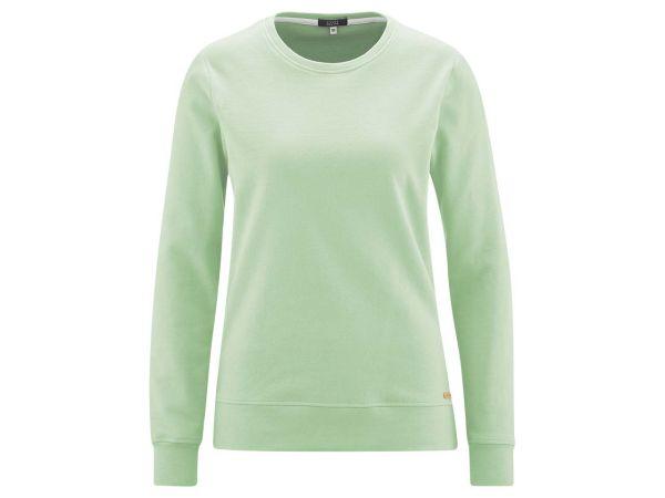 """Living Crafts Bio-Damen-Sweatshirt """"Gwyneth"""" mint, Gr. M"""