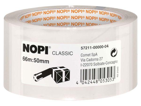 "NOPI Packband ""Classic"" 4042, Stärke 52 µ, transparent, 36 Stk."