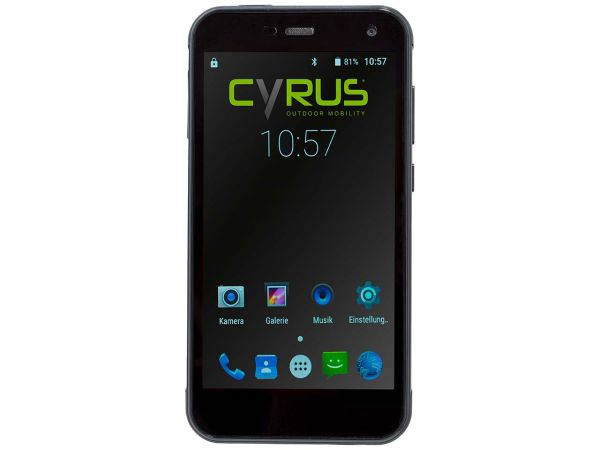 """Cyrus Smartphone """"CS28"""" schwarz, B-Ware, Zustand sehr gut"""