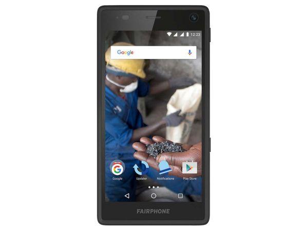 """Smartphone """"Fairphone 2"""" schwarz"""