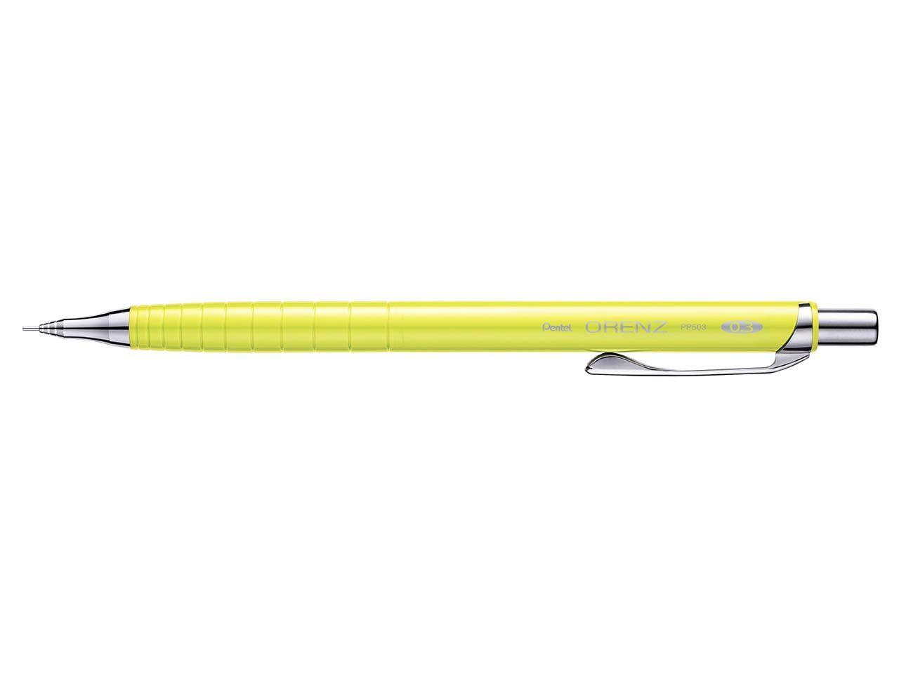 "Pentel Druckbleistift ""Orenz"" 0,3 mm gelb PP503-GTF"