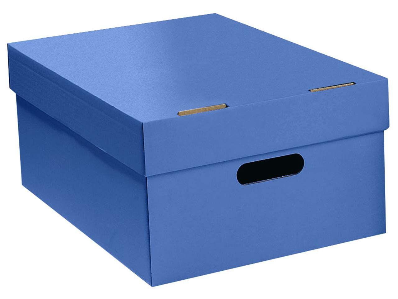 Stülpkiste blau groß 7066blau
