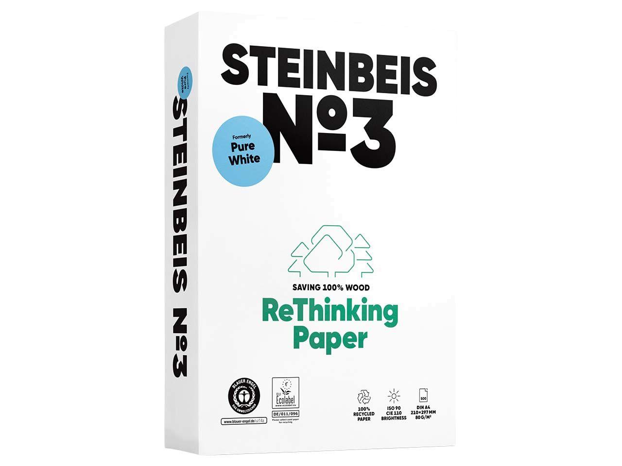 500 Blatt Steinbeis Recycling-Kopierpapier