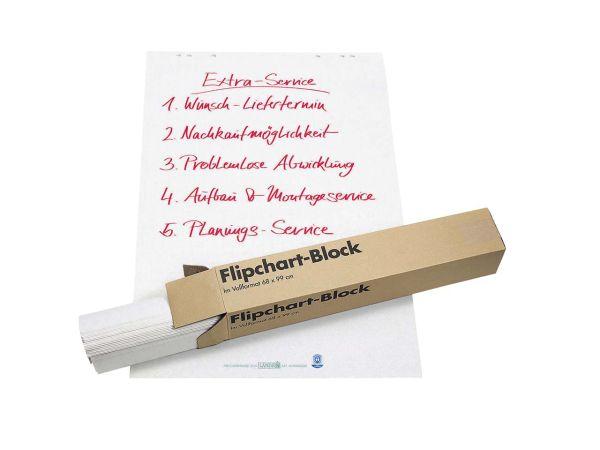 5 Flipchart-Blocks kariert 20 Blatt