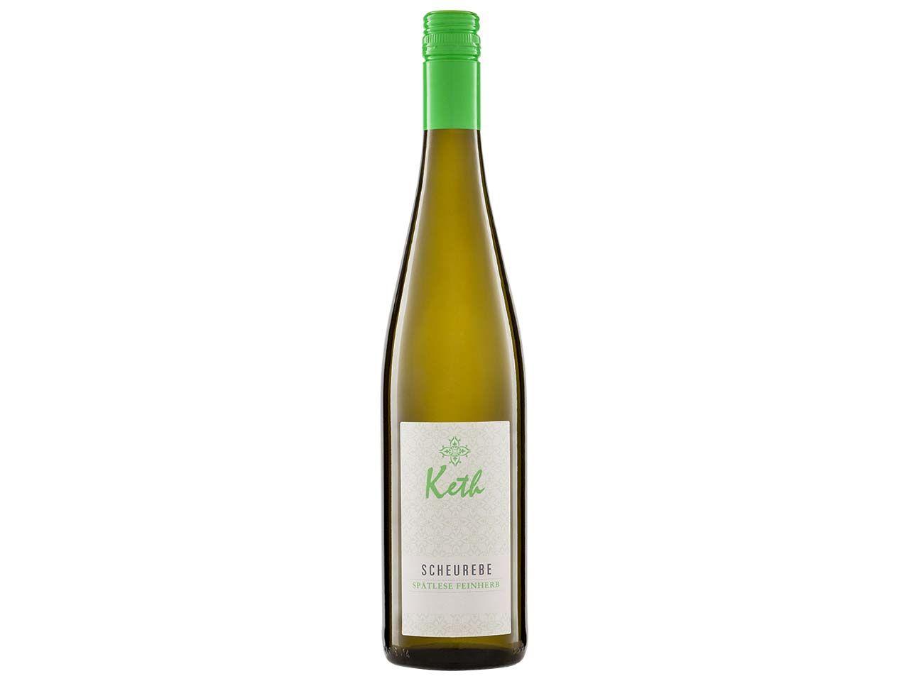 Bio-Weißwein Scheurebe Spätlese feinherb, Keth, 0,75 l 57005