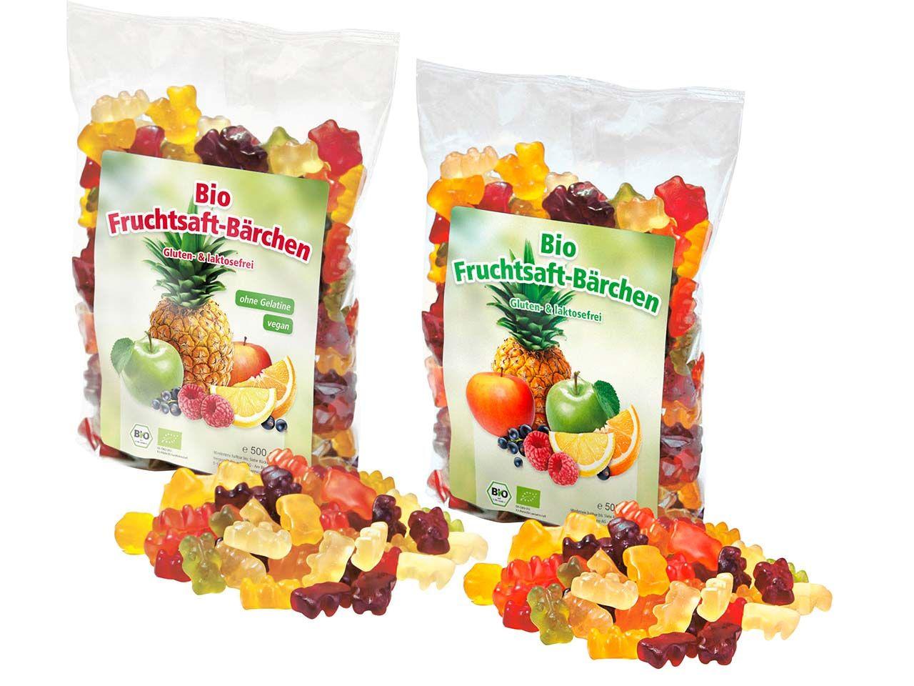 memo Bio-Fruchtsaft-Gummibärchen Paket