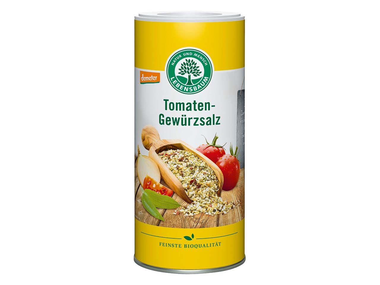 "Lebensbaum Bio-Gewürzsalz ""Tomaten"", 150 g 1605"