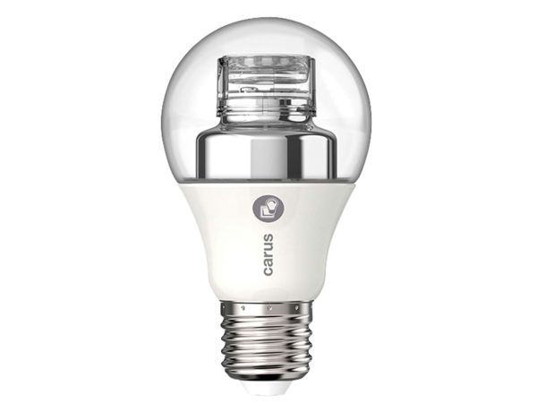 "carus LED-Lampe ""Warm by click"" 7,5 W, E27, 470 lm, dimmbar"