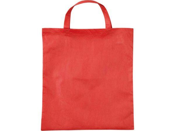 PP-Taschen,rot 38x42 cm mit zwei kurzen Henkeln
