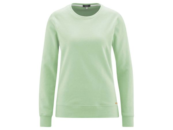 "Living Crafts Bio-Damen-Sweatshirt ""Gwyneth"" mint, Gr. XS"
