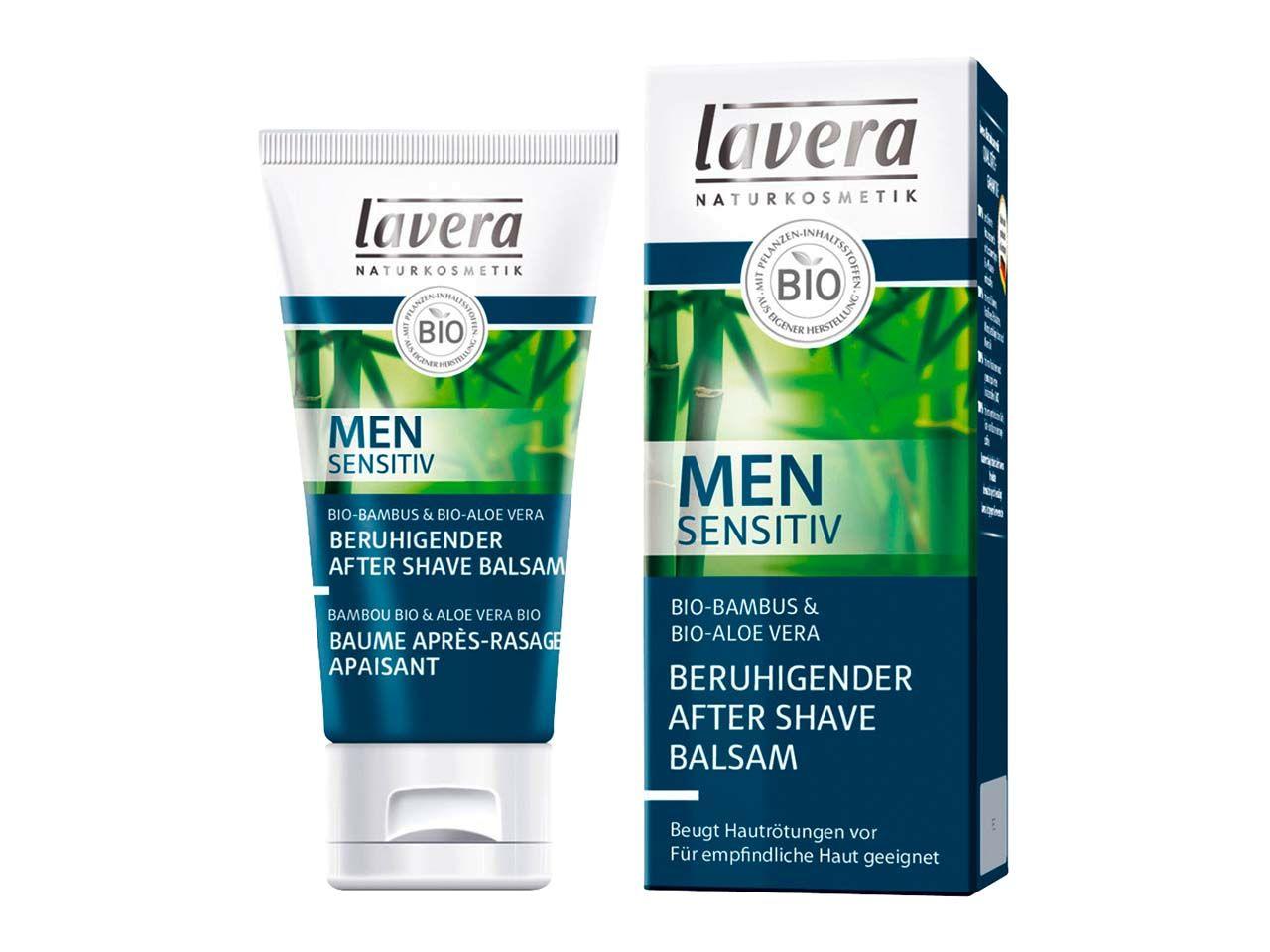 lavera Men sensitiv Beruhigender Aftershave-Balsam 50 ml 104116
