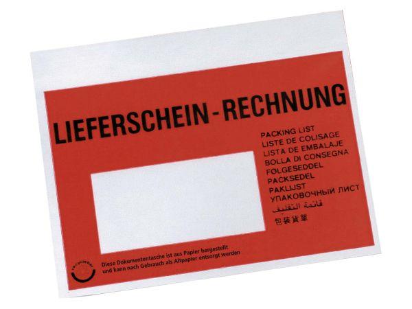 250 C6 Huckepack Lieferschein/Rechnung