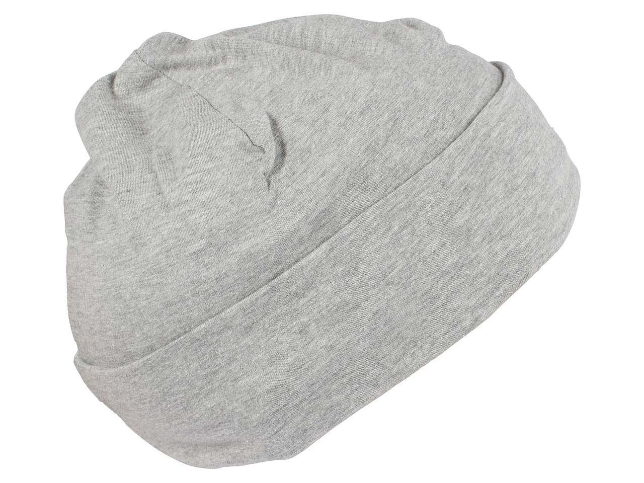 memo Bio-Baumwoll Mütze grau melange tb/me/1706281 grau melange