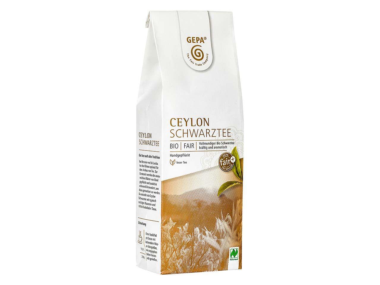 GEPA Schwarzer Bio-Tee Ceylon, 100g 8880934
