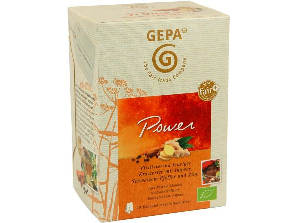 "GEPA Bio-Kräutertee ""Power"""