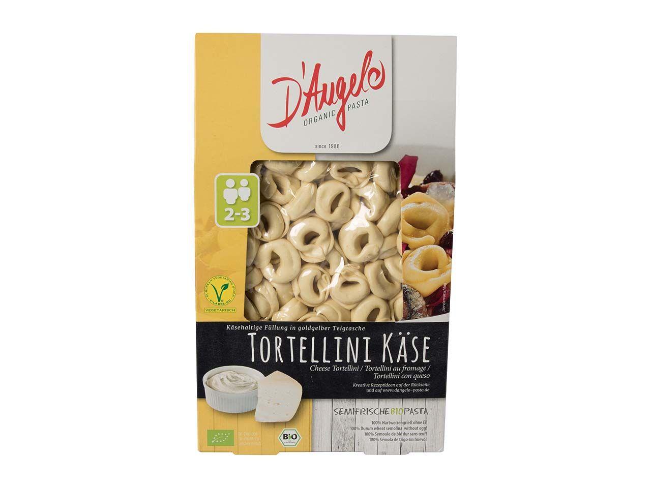 D`Angelo Bio-Tortellini mit Käse-Füllung, 250 g 229002400