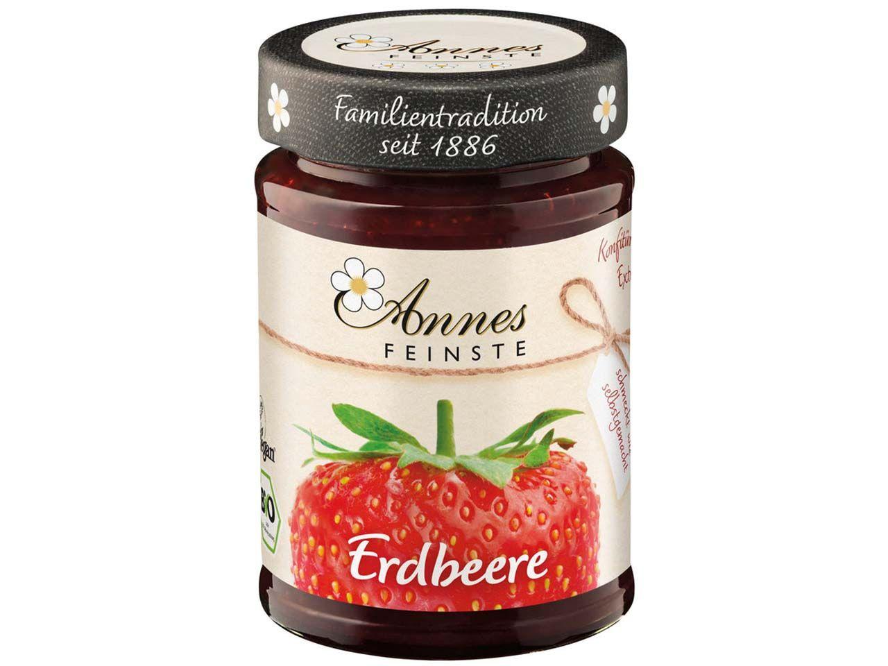 """Annes Feinste Bio-Konfitüre """"Erdbeer"""" 225 g 230003125"""