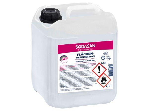 Sodasan Flächen-Desinfektionsspray, 5 l