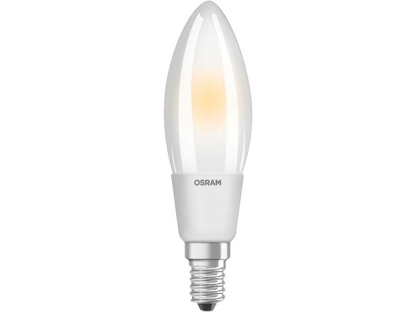"OSRAM LED-Lampe ""Superstar Filament"" Kerze CLB 60, 5 W, E14, 806 lm"