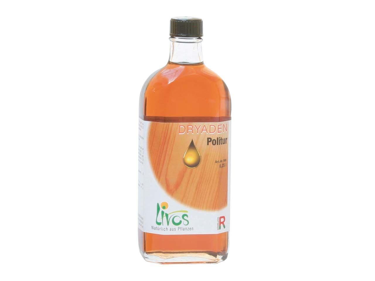 Livos Dryaden Politur 250 ml Flasche 560-0,25