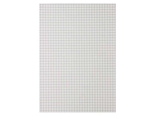 10 Notizblöcke DIN A4, 50 Blatt, kariert, ohne Deckblatt