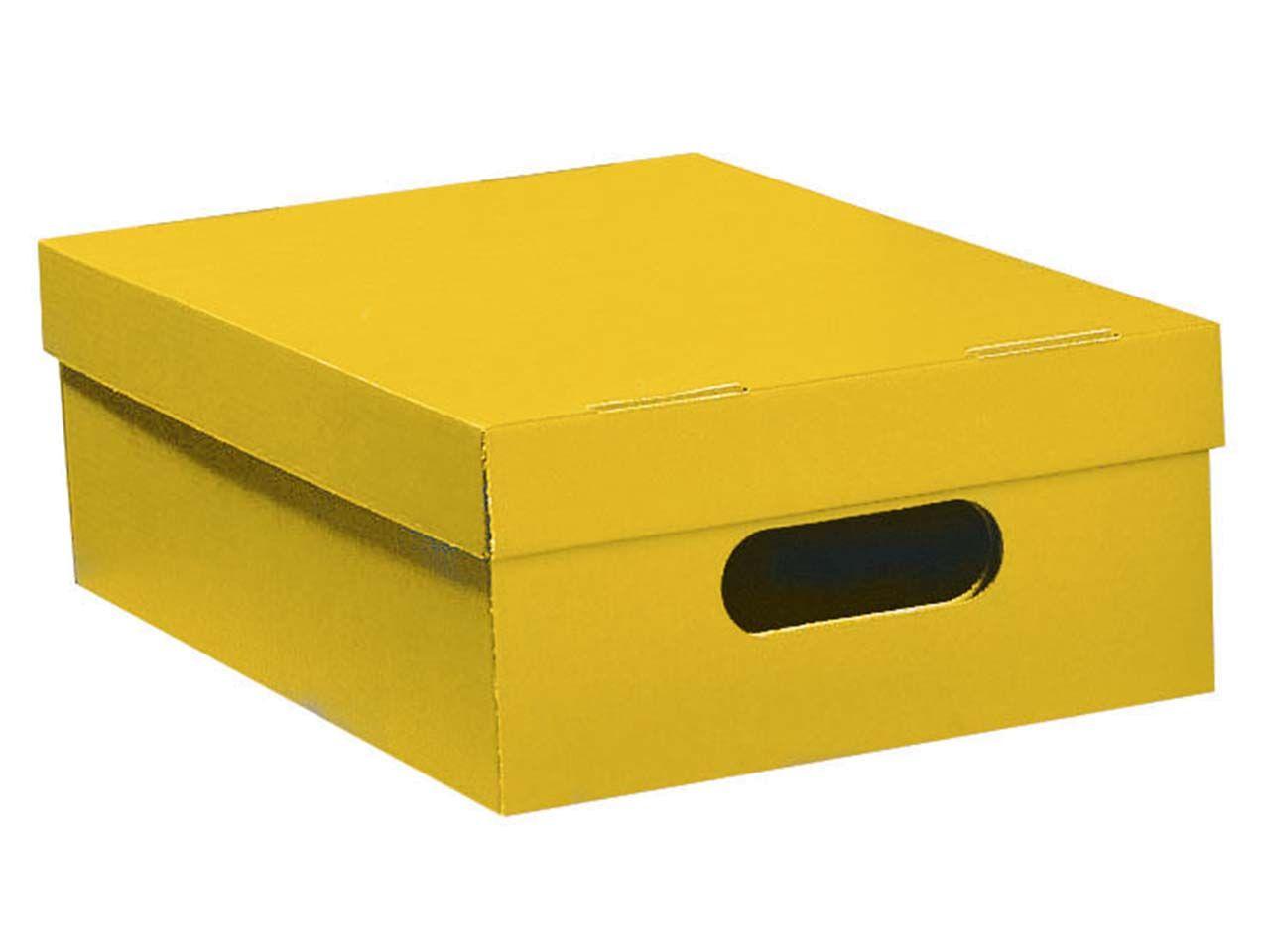 Stülpkiste gelb klein 7049gelb