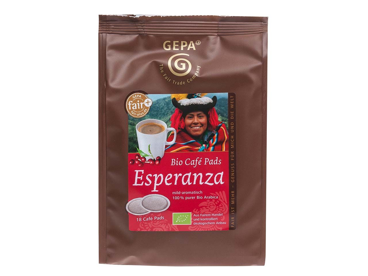 GEPA Bio Kaffeepads