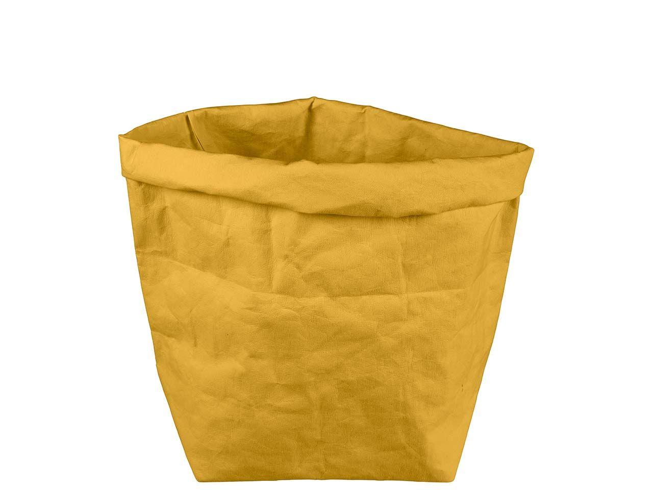 "Krempelbox ""STUFF"" aus Papyr, Gr. XL, banana 11428 banana"