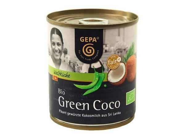 """GEPA Bio-Kokosmilch """"Bio Green Coco"""" 200 ml"""