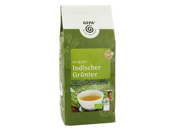 GEPA Grüner Bio-Tee Indischer Grüntee 200 g, lose