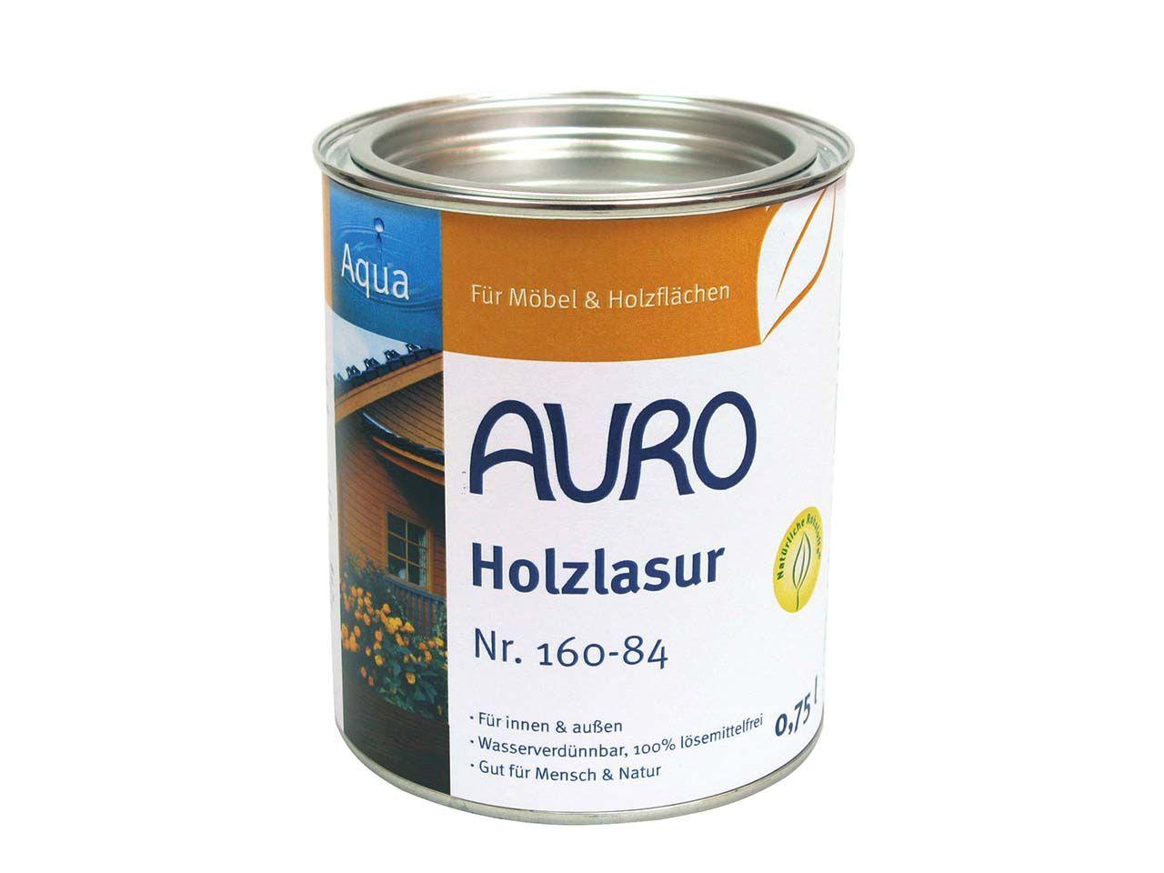 AURO Holzlasur orange 0,75 l