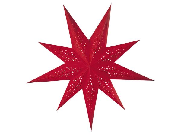 "earth friendly starlightz Papierstern ""Spumante red"" inkl. Verstromung"