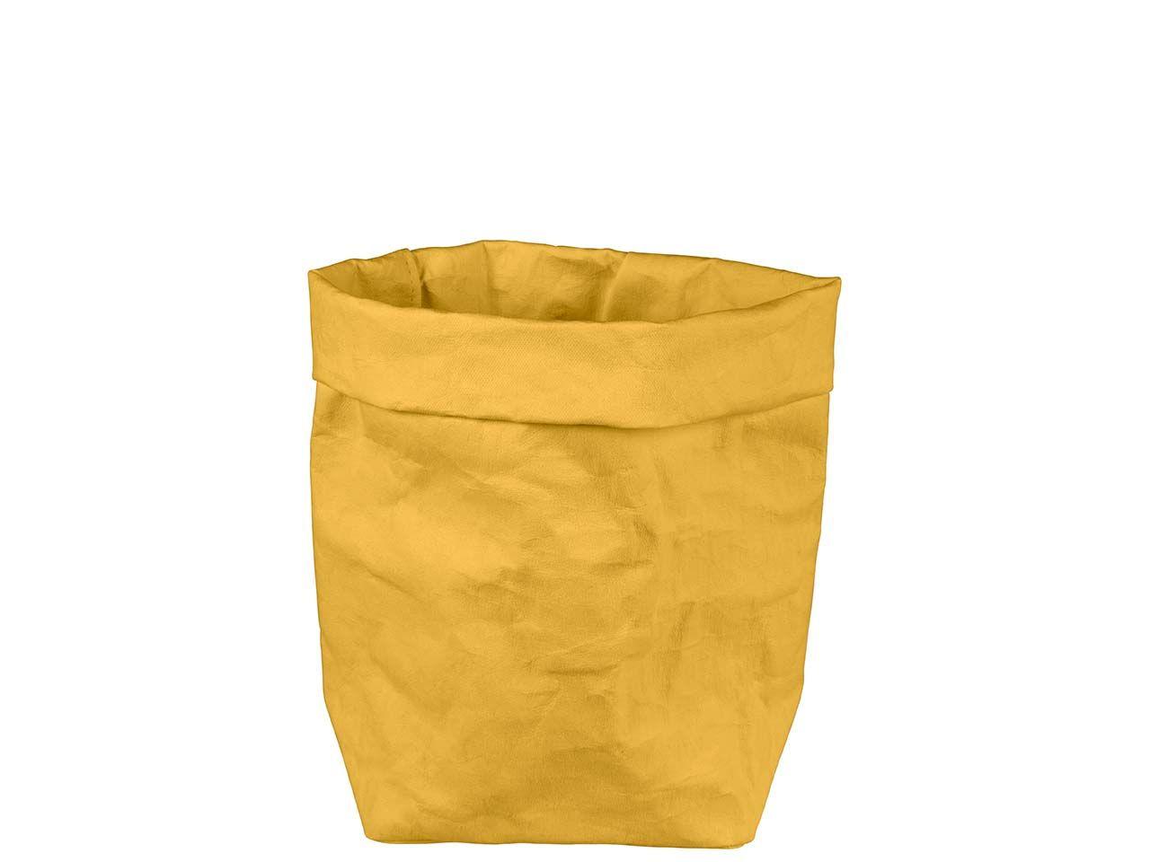 "Krempelbox ""STUFF"" aus Papyr, Gr. L, banana 11427 banana"