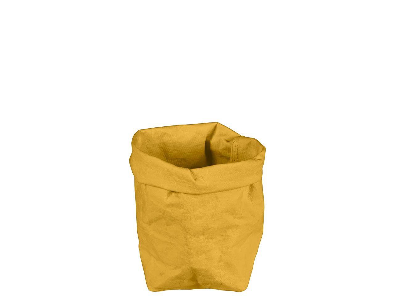 "Krempelbox ""STUFF"" aus Papyr, Gr. S, banana 11611 banana"
