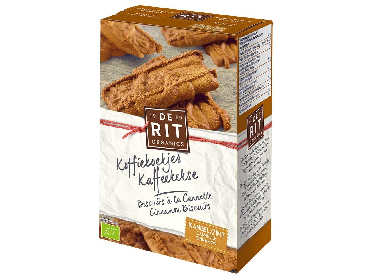 De Rit Bio-Kaffeekekse mit Zimt 165 g 137353087