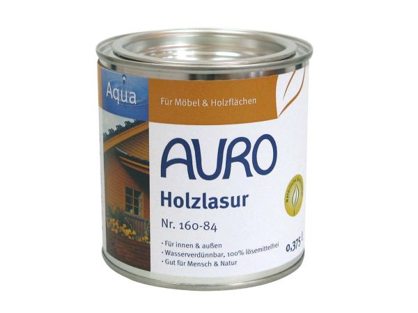 AURO Holzlasur orange 0,375 l