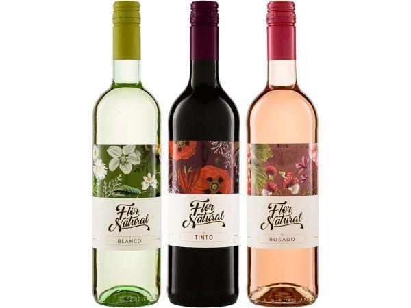 "Bio-Weinpaket ""Flor Natural"""