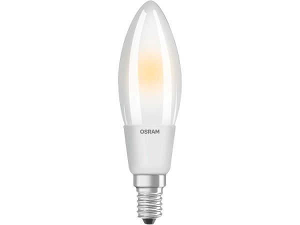 "OSRAM LED-Lampe ""Superstar Filament"" Kerze CLB 40, 5 W, E14, 470 lm"