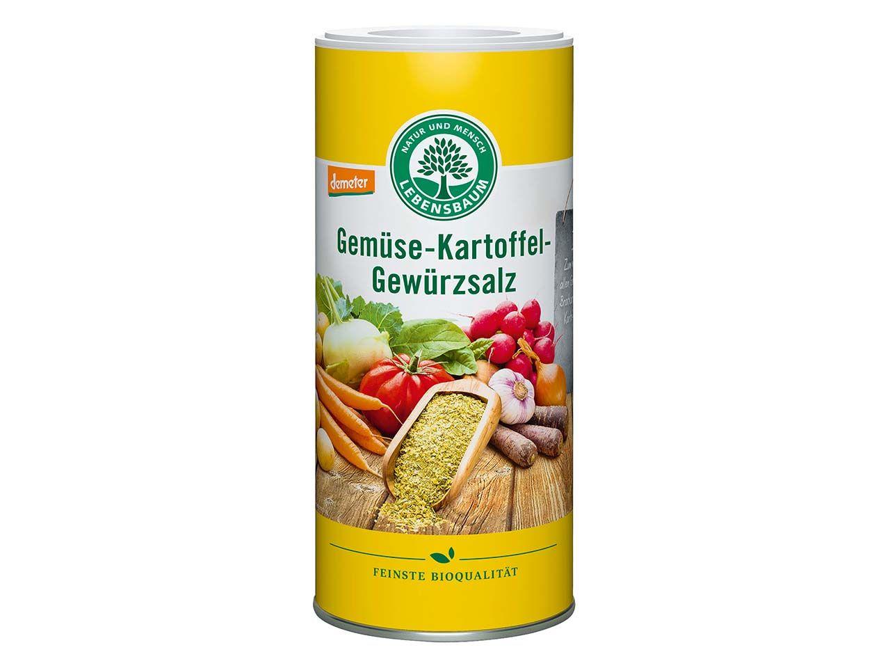 "Lebensbaum Bio-Gewürzsalz ""Gemüse-Kartoffel"", 150 g 1603"