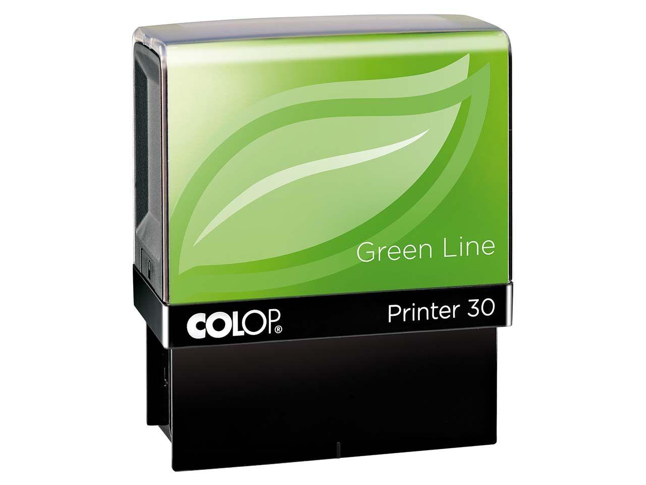 Colop Stempel Green Line