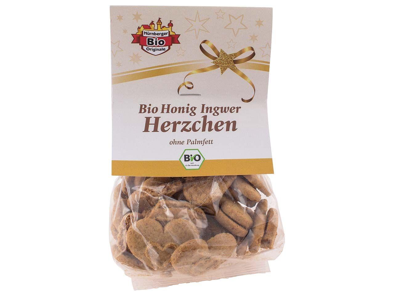 Bio-Honig-Gewürz-Herzen, 100 g 2076