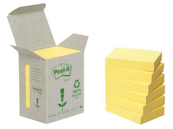 """3M Haftnotizen Kleinpackungen """"Post-it Tower"""" gelb, 38 x 51 mm"""