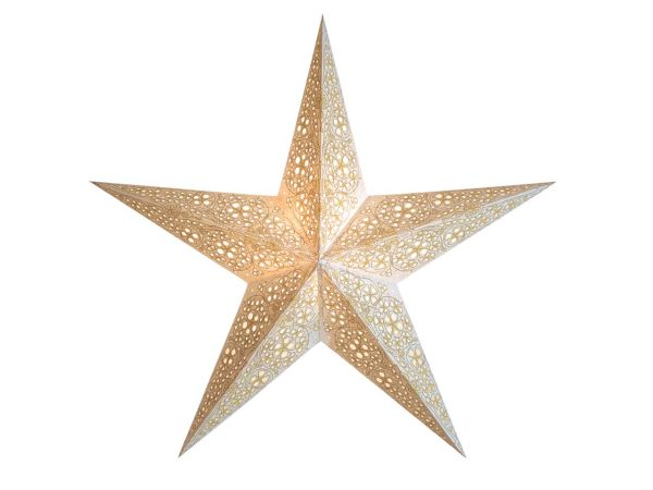 "earth friendly starlightz Papierstern ""Kalea swati"" inkl. Verstromung"
