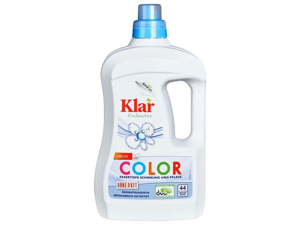 "Klar Basis sensitive Color-Waschmittel ""EcoSensitive"" flüssig 2 Liter"