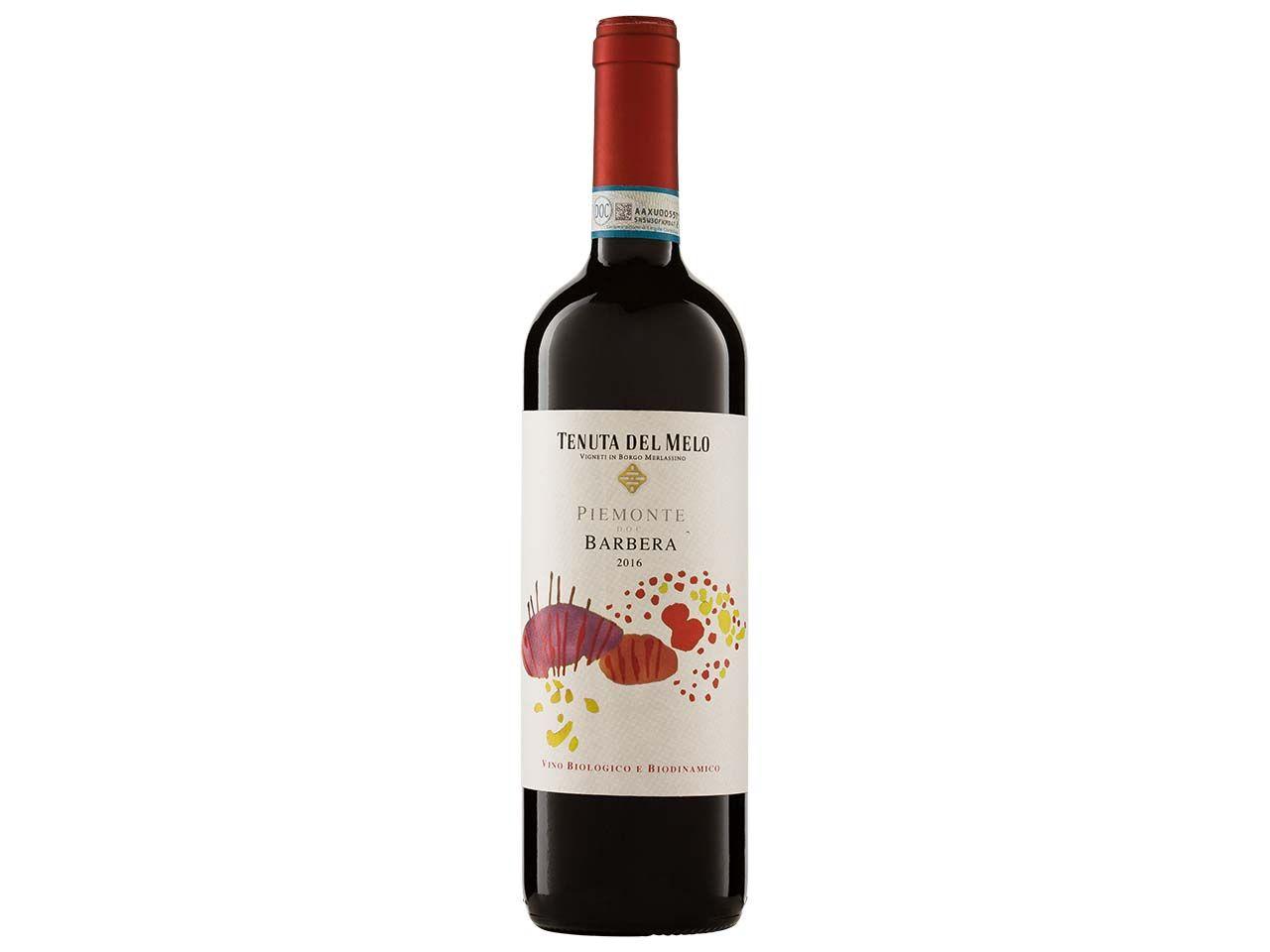Bio-Rotwein Barbera Piemonte DOC, Tenuta del Melo, 0,75 l 29350