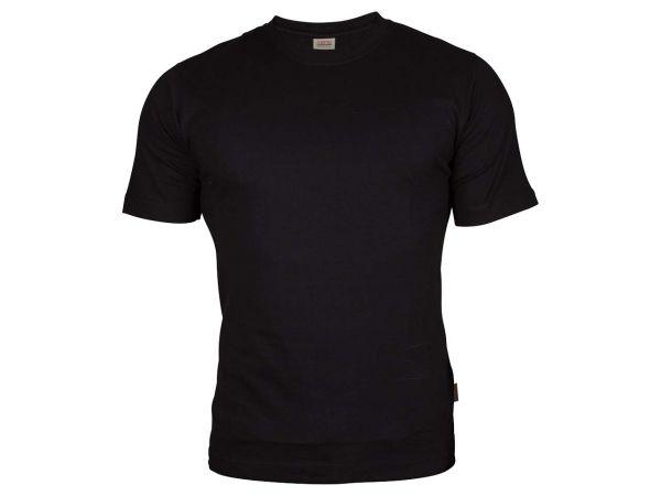 memo T-Shirt Gr. S 160g/m² schwarz aus Bio-Baumwolle mit Fairtrade-Siegel