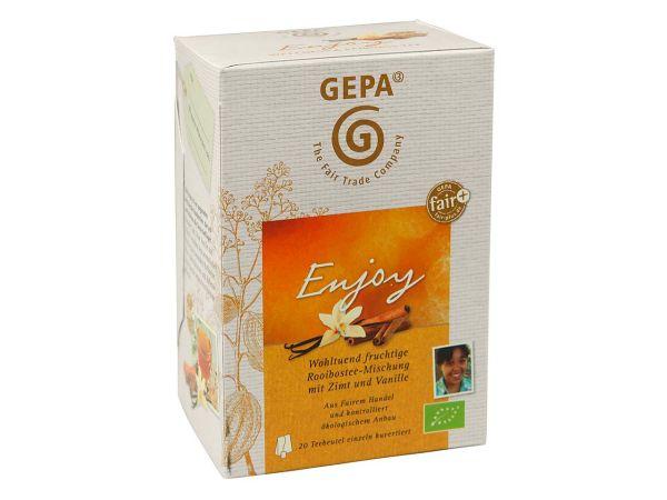 GEPA Bio-Tee Rooibostee-Mischung Enjoy 20 x 1,7 g