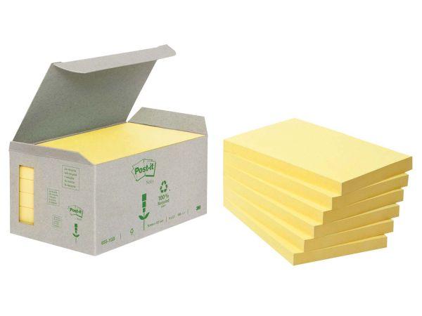 """3M Haftnotizen Kleinpackungen """"Post-it Tower"""" gelb, 127 x 76 mm"""