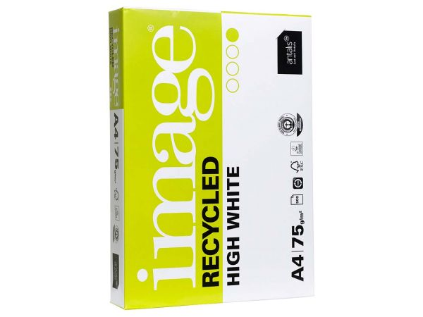 "500 Blatt Recycling Kopierpapier ""Image Recycled High White"" DIN A4, 75 g/m²"